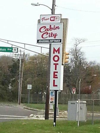 Cabin city motel lower township nj voir les tarifs et for Motel bas prix