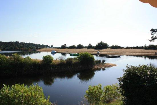 Camping Airotel Les Viviers: vue du lac