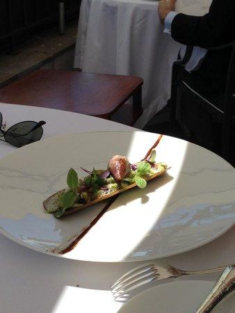 Le Chat-Botté : Sea menu - baby squid with parsley