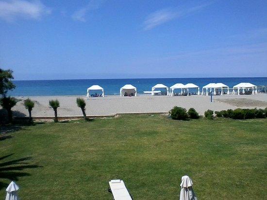 Grecotel Creta Palace Hotel : Grecotel Creta Palace Blikc vom Zimmerbalkon