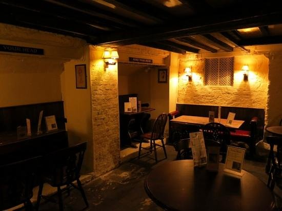 Ye Olde Cheshire Cheese : Il locale
