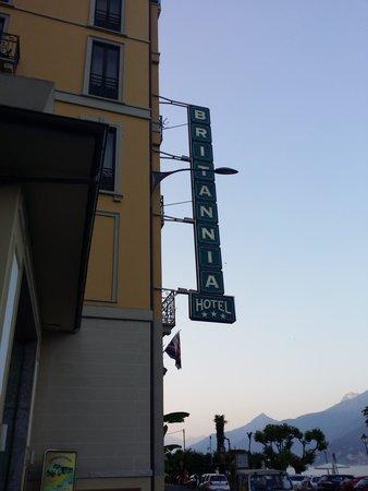 Grand Hotel Britannia Excelsior: insegna