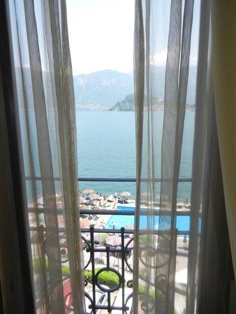 Grand Hotel Britannia Excelsior: vista dalla finestra