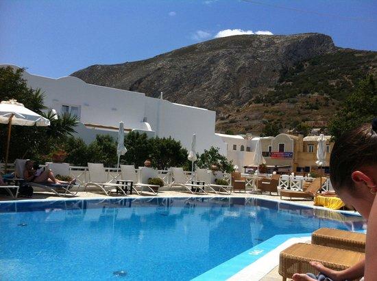 Hotel Matina : piscine