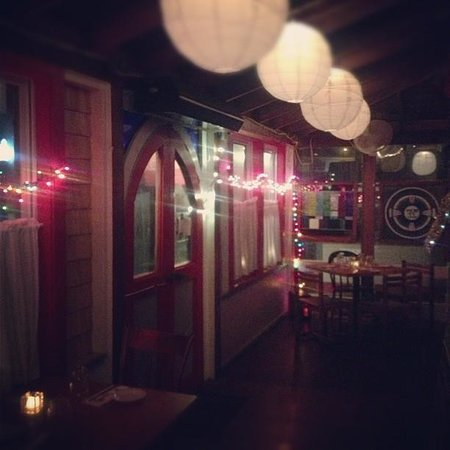 The Red Cat Kitchen at Ken N' Beck: porch seating