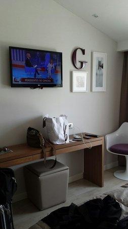 Hotel Gelmirez : Habitacion