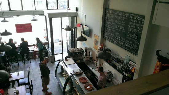 Chorizo & Co. : View from the loft seating