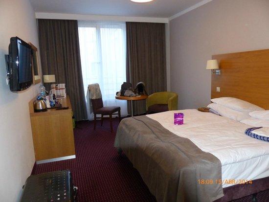 Jurys Inn Hotel Prague: habitación