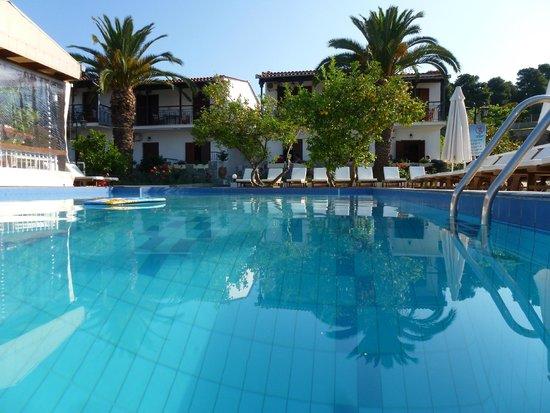 Villa Rosa Apartments : pool and villas
