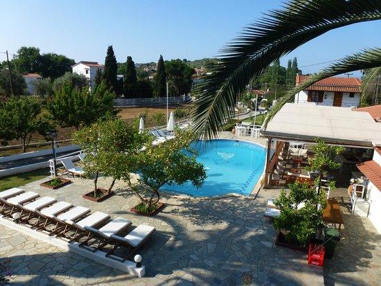 Villa Rosa Apartments: view from balcony