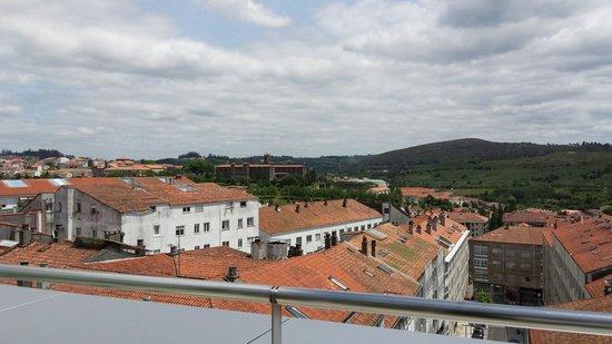 Hotel Gelmirez : Vistas de la habitacion