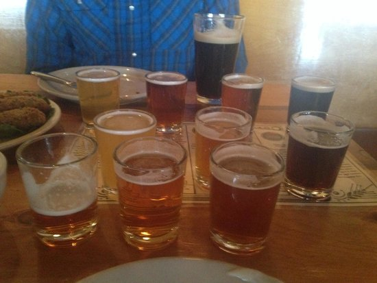 Kannah Creek Brewing Company: Beer flight