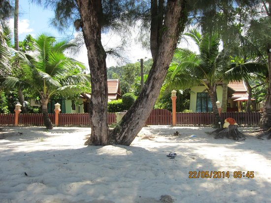 Koh Chang Paradise Resort & Spa : Strand vor der Beach Front Villa