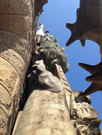 Sagrada Família : Particolari della Sagrada