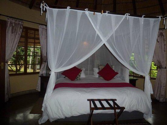 Elephant Plains Game Lodge : Our room
