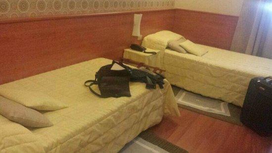 Hotel Bernina: Letti
