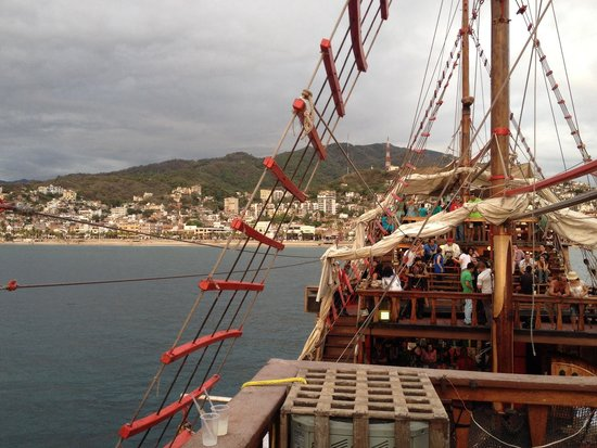 Pirate Ship Vallarta: View from the boat