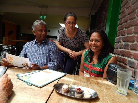Curry Leaf Cafe – Brighton Lanes: Birthday cakes