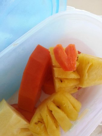 Seapines Villa Liberg: My breakfast to take to job