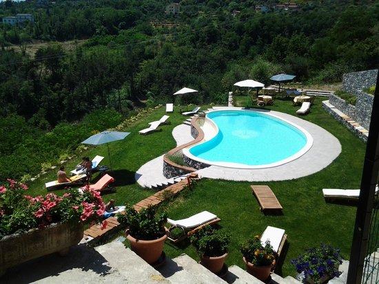 Agriturismo colline di rossoli foto di colline di - Agriturismo liguria con piscina ...