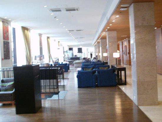 Solo Sokos Hotel Palace Bridge: comodi salotti