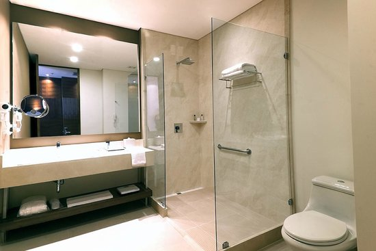 DoubleTree by Hilton Hotel Bogota - Parque 93: Baño habitacion Superior