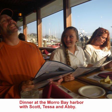 Morro Bay National Estuary: A great restaurant on the harbor