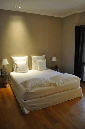 B&B Quartopiano: Le lit de la Suite