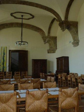 Hotel Abbaye des Premontres : salle du petit déjeuner