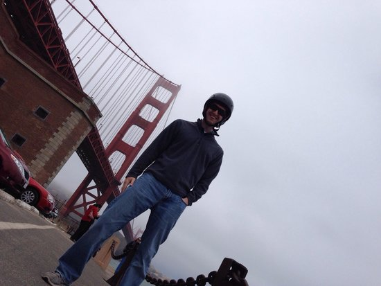 GoCar GPS Guided Tours: Great view of the Golden Gate Bridge!!!