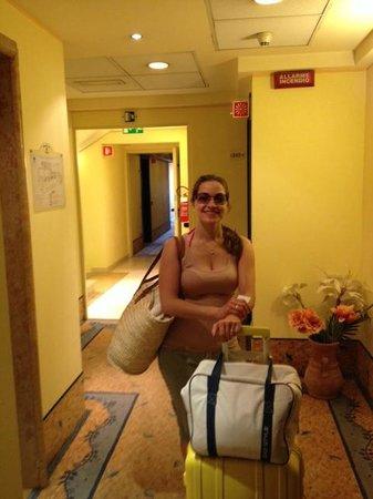 Ai Pini Park Hotel: Corridoio al terzo piano