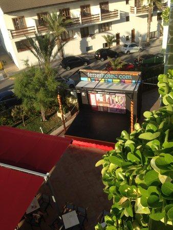 Hotel & Spa Ferrer Janeiro: stage veiw