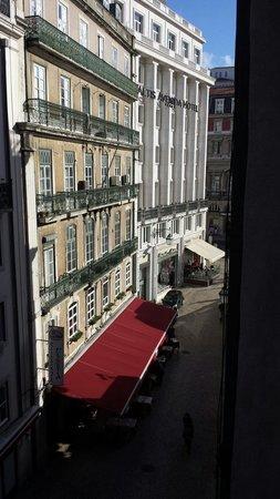 Rossio Garden Hotel: Ausblick vom Fenster