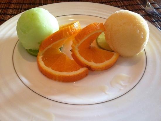 Thai House Restaurant: sorbets