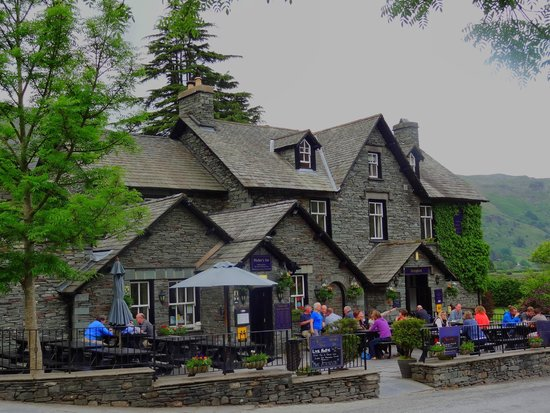 New Dungeon Ghyll Hotel: Walkers Bar