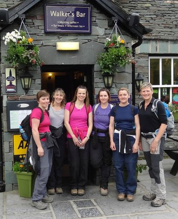 New Dungeon Ghyll Hotel: Before hiking Scafell Pike
