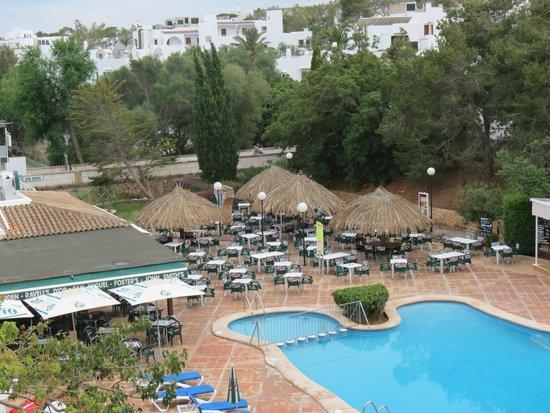 Tropical garden bar bild fr n ola apartamentos es ravells d 39 or cala d 39 or tripadvisor - Apartamentos tropical garden ...
