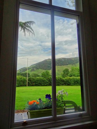 New Dungeon Ghyll Hotel : View from room 2