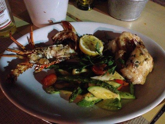 Restaurante El Muelle: Grigliata di pesce