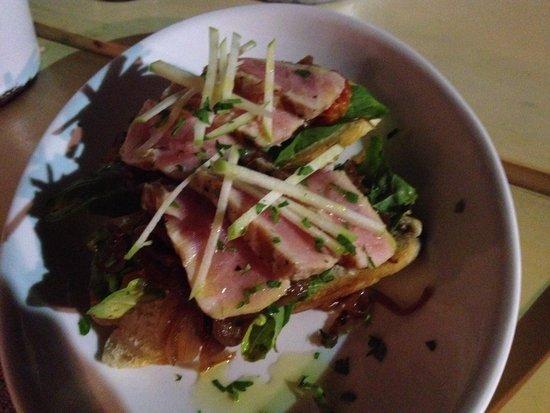 Restaurante El Muelle: Crostini di tonno, buonissimi