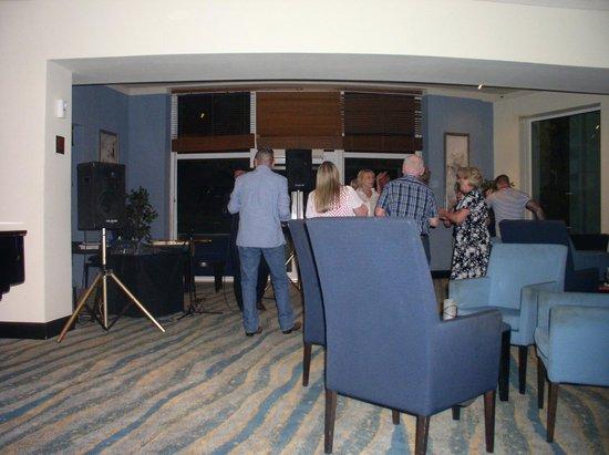 Radisson Blu Resort & Spa, Malta Golden Sands : Swizzles some just had to dance.
