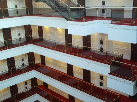 Borodino Hotel : vista dall'ascensore