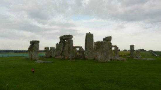 soft focus Stonehenge