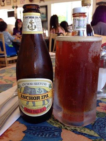 Sea Harvest Fish Market & Restaurant : Anchor IPA a San Francisco Anchor Brewing Beer