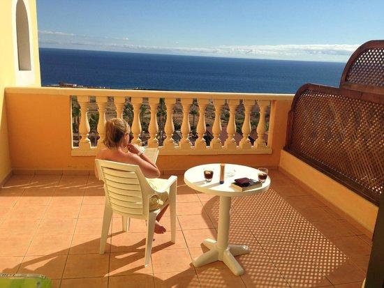 Sunlight Bahia Principe Tenerife: Balcony