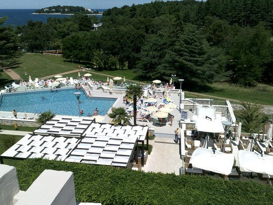 View from Room A356 Hotel Laguna Mediteran