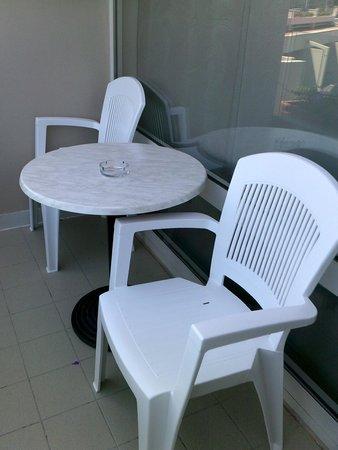 Hotel Laguna Mediteran: Room A356 Balcony Area