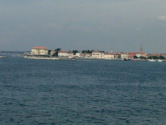 Hotel Laguna Mediteran: Porec View