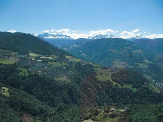 Funivia del Renon : Panorama dalla funivia