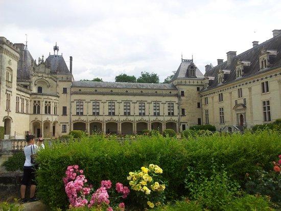 Château de Brézé : vue du château